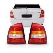 Lanterna Traseira Chevrolet Astra Hatch 1998 1999 2000 2001 2002 Tricolor