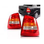 Lanterna Traseira Chevrolet Astra Sedan 1998 1999 2000 2001 2002 Tricolor