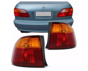 Lanterna Traseira Honda Civic 1999 2000 Canto
