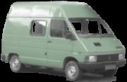 Lanterna Traseira Renault Trafic 1986 1987 1988 1989 1990 1991 1992 1993 1994 1995 Tricolor