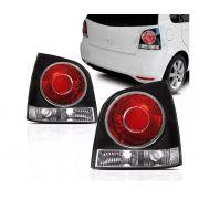 Lanterna Traseira Volkswagen Polo 2007 2008 2009 2010 2011 2012 Fume