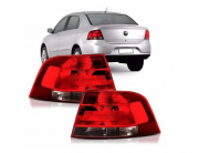 Lanterna Traseira Volkswagen Voyage G5 2008 2009 2010 2012 Fume