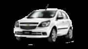 Lente Farol Chevrolet Agile 2009