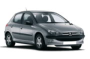 Lente Farol Peugeot 206 1998 RAIADA