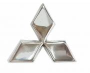 Logo Emblema Da Grade Mitsubishi L200 Sport / Outdoor / Savana 2003 2004 2005 2006 2007 2008 2009 2010 2011 2012