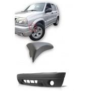 Par Moldura Aplique + Parachoque Dianteiro Chevrolet Tracker  2004 2005 2006 2007 2008