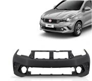 Parachoque Dianteiro Fiat Argo 2017 2018 2019 2020 2021 Com Furo