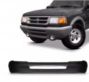 Parachoque Dianteiro Ford Ranger 1993 1994 1995 1996 1997 Preto Sem Furo