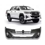 Parachoque Dianteiro Toyota Hilux Srv Pick Up 2019 2020 Com Grade Inferior