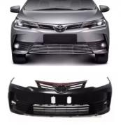 Parachoque Dianteiro Toyota Corolla 2018 2019 Com Grade Central