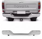 Parachoque Traseiro Toyota Hilux Srv Pickup 1992 1993 1994 1995 1996 1997 1998 1999 2000 2001 2002 2003 2004 Cromado Com Pisante E Suporte Marca Fpi