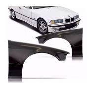 Paralama Bmw Serie 3 Sedan e Hatch 318i 320i 325i 328i 330i 1991 1992 1993 1994 1995 1996 1997 1998 Com Furo Para Pisca