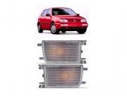 Pisca do Parachoque Volkswagen Golf 1993 1994 1995 1996 1997 Com Função Cristal