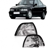 Pisca Lanterna Dianteira Bmw Sedan Hatch Serie 3 318i 320i 325i 328i 330i 1992 1993 1994 1995 1996 1997 1998 Cristal