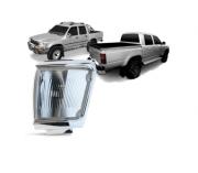 Pisca Lanterna Dianteira Toyota Hilux Sr Srv 2002 2003 2004 Cristal Aro Cromado / Hilux Sw4 1992 1993 1994 1995