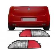 Refletor Lanterna Traseira Parachoque Fiat Punto 2007 2008 2009 2010 2011 2012 Bicolor