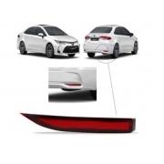 Refletor Parachoque Traseiro Toyota Corolla 2020 2021