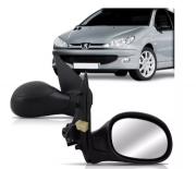 Retrovisor Peugeot 206 1998 1999 2000 2001 2002 2003 2004 2005 2006 2007 2008 2009 2010 2011 2012 2013 2014 Elétrico