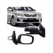 Retrovisor Toyota Corolla 2009 2010 2011 2012 2013 Retratil Eletrico Com Pisca