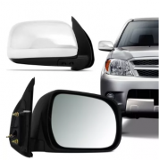 Retrovisor Toyota Hilux Sw4 Cromado Eletrico 2005 2006 2007 2008 2009 2010