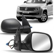 Retrovisor Volkswagen Amarok 2010 2011 2012 2013 2014 2015 Manual Preto