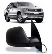 Retrovisor Volkswagen Amarok 2016 2017 2018 2019 Elétrico Preto