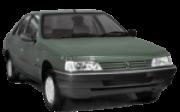 Suporte do Radiador Fibra Peugeot 405 1994 1995