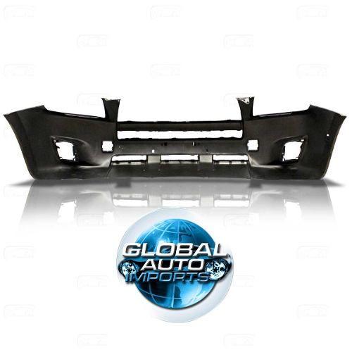 Parachoque Dianteiro Toyota Rav4 2009 2010 2011 2012 Com Furo Para Moldura