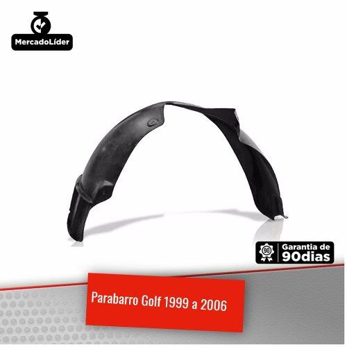 Parabarro Dianteiro Volkswagen Golf 1999 2000 2001 2002 2003 2004 2005 2006 2007 2008 2009 2010 2011