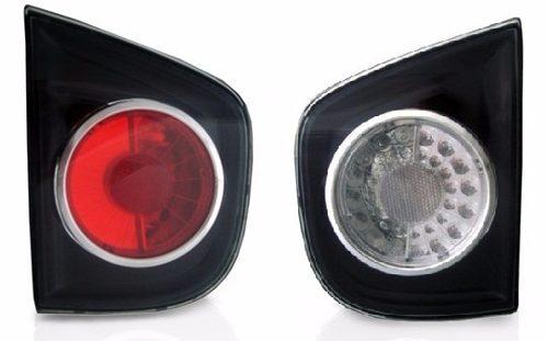 Lanterna Traseira Volkswagen Golf 2007 2008 2009 2010 2011 2012 Mala Fume