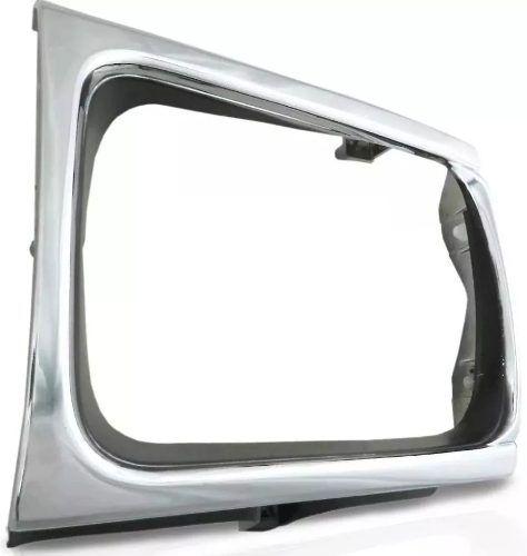 Moldura Farol Toyota Hilux Sr5 PickUp 1992 1993 1994 1995 1996 1997 1998 1999 2000 Cromada