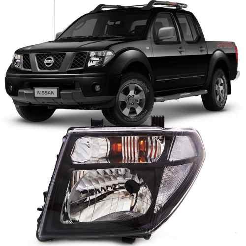 Farol Nissan Frontier Attack Negro 2008 2009 2010 2011 2012 2013 2013