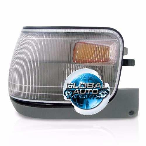 Pisca Lanterna Dianteira Mitsubishi L300 1998 1999 2000 Com Moldura
