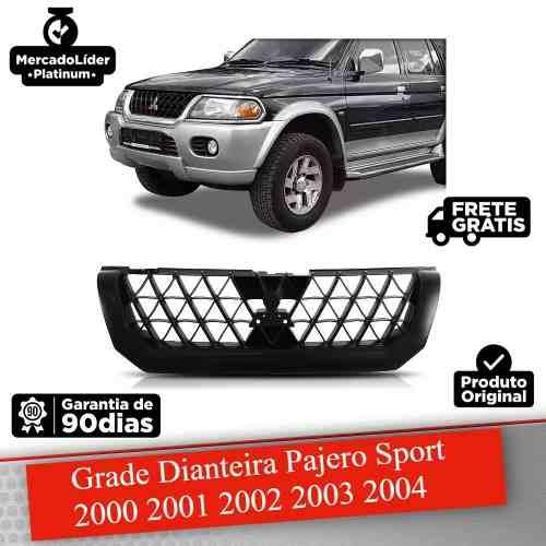 Grade Dianteira Mitsubishi Pajero Sport 2000 2001 2002 2003 2004