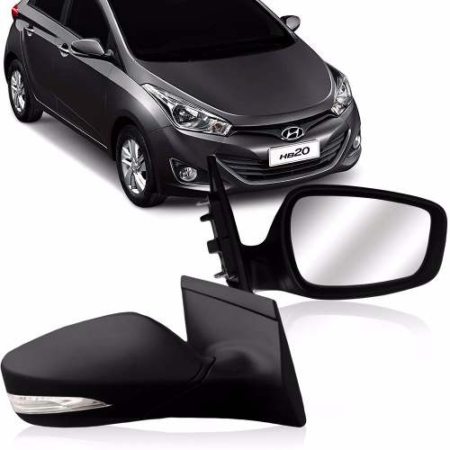 Retrovisor Hyundai Hb20 2012 2013 2014 2015 Eletrico Com Pisca Original