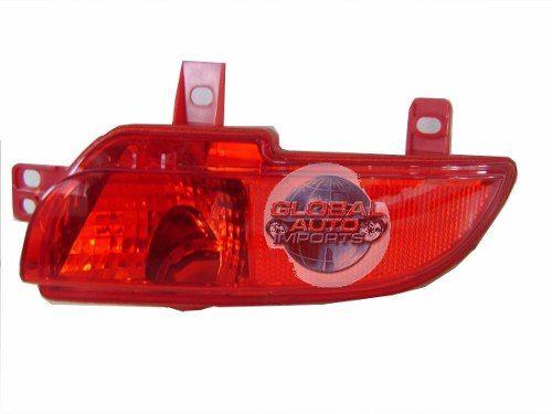 Lanterna Parachoque Traseiro Peugeot 207 Hatch 2008 2009 2010 Luz de Neblina