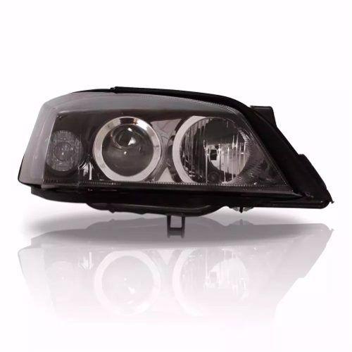Farol Chevrolet Astra 2003 2004 2005 2006 2007 2008 2009 2010 2011 Foco Duplo Mascara Negra