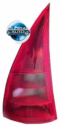Lanterna Traseira Citroen C3 2003 2004 2005 Vermelha