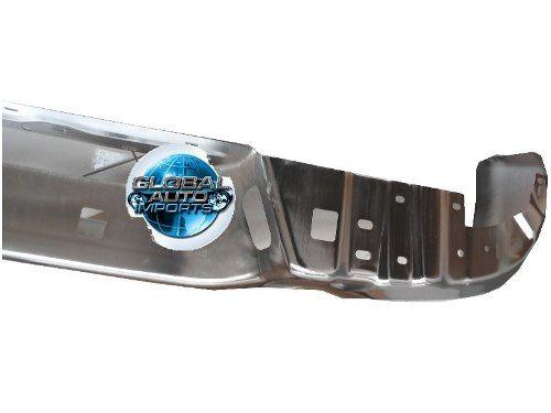 Parachoque Traseiro Chevrolet S10 2013 2014 2015 Cromado Com Pisante