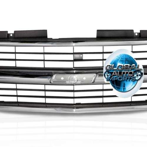 Grade Dianteira Chevrolet Silverado 1993 1994 1995 1996 1997 1998 1999 2000 2001 Cromada