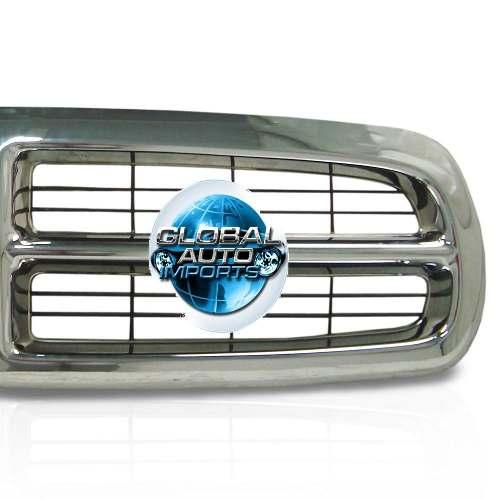 Grade Dianteira Dodge Dakota 1999 2000 2001 2002 2003 Cromada