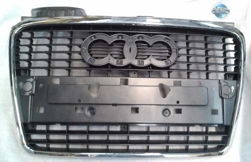 Grade Dianteira Audi A4 2005 2006 2007 Com Friso Cromado
