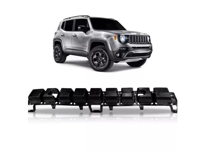 Alma Lamina Parachoque Dianteiro Jeep Renegade 2014 2015 2016 2017 2018