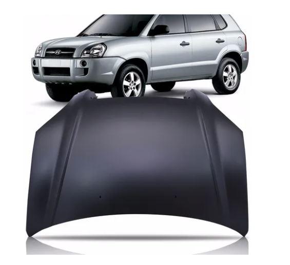 Capô Hyundai Tucson 2004 2005 2006 2007 2008 2009 2010 2011 2012