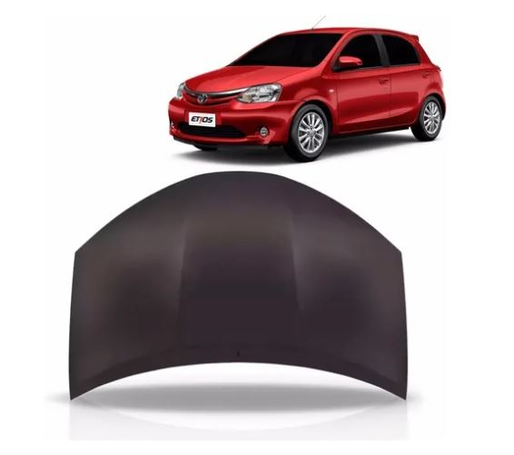 Capô Toyota Etios Hatch Sedan 2012 2013 2014 2015