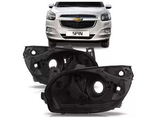 Carcaça Farol Chevrolet Spin 2013 2014 2015 2016 2017 2018