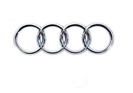 Emblema Cromado da Grade Dianteira Audi A4 2002 2003 2004