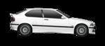 Farol Bmw Serie 3 325i 318i 320i 330i 1993 1994 1995 1996 1997 Lente Acrilica