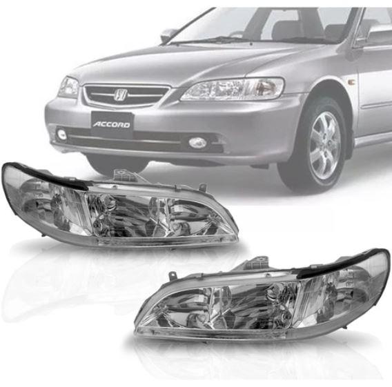 Farol Honda Accord 1998 1999 2000 2001 2002 Depo