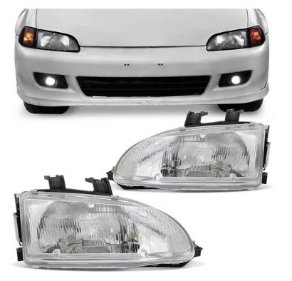 Farol Honda Civic Hatch Coupe 1992 1993 1994 1995